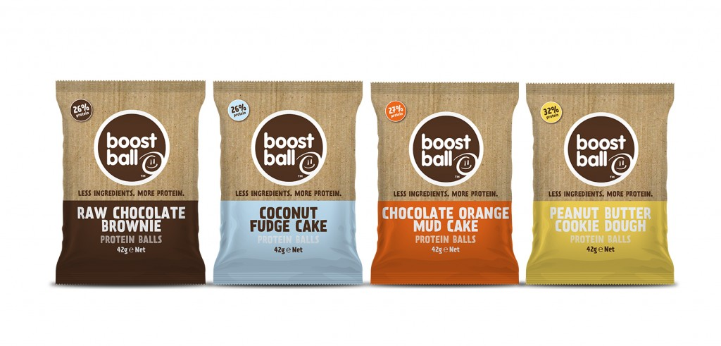 Grab a boost with Boostball!