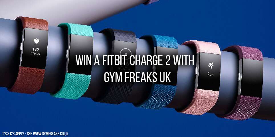 Win a Fitbit Charge 2 - November