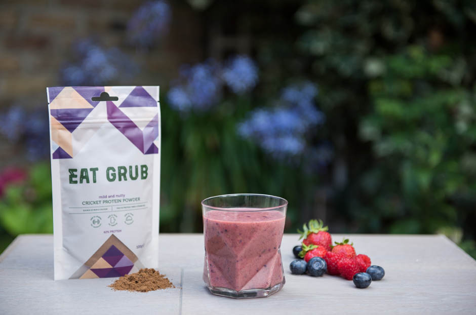 Eat Grub – cricket protein powder (cricket flour)